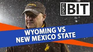 Wyoming vs New Mexico State Season Opener | Sports BIT | NCAAF Picks