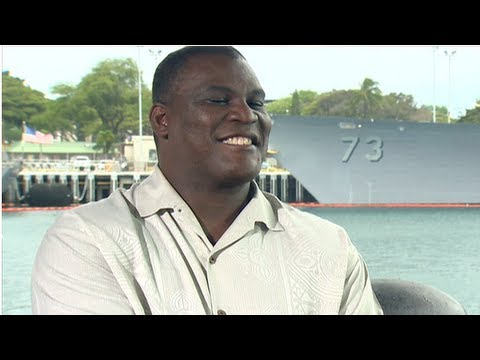 Battleship Star and RealLife Veteran Greg Gadson Shares His Inspiring Story