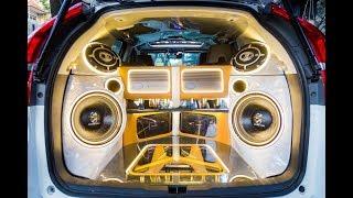 Khám phá dàn loa độ trị giá 300 triệu đồng trên xe Honda CR-V