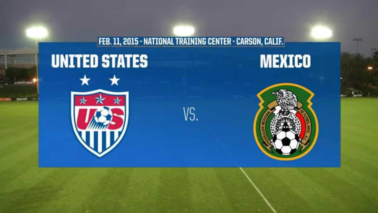 2015 Under 17 Womens Ntc Invitational Usa Vs Mexico Youtube