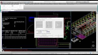 MagiCAD for AutoCAD Uponor Yerden Isıtma