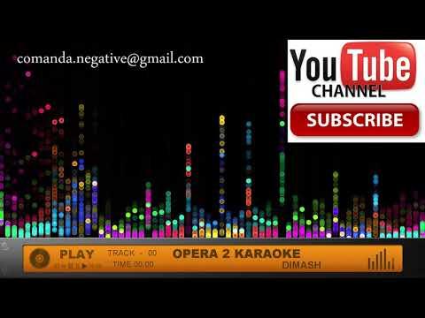 Dimash - Opera 2 Karaoke DEMO Negativ Instrumental mp3