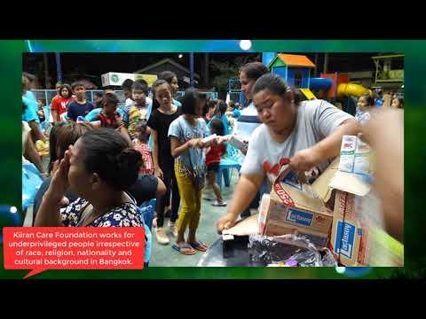 Milk Distribution Among Underprivileged Children By Kiiran Care Foundation