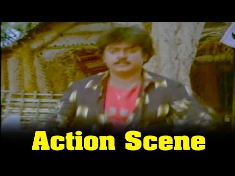 Thenpandi Seemayile Movie :  Vijayakanth And Chandrasekhar Action Scene