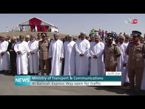 Ministry of Transport and Communications inaugurates Al-Batinah Express Way Project
