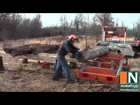 Successful Sawmilling Series - Stacking The Deck - Home-built Log Loading Deck For Portable Sawmills