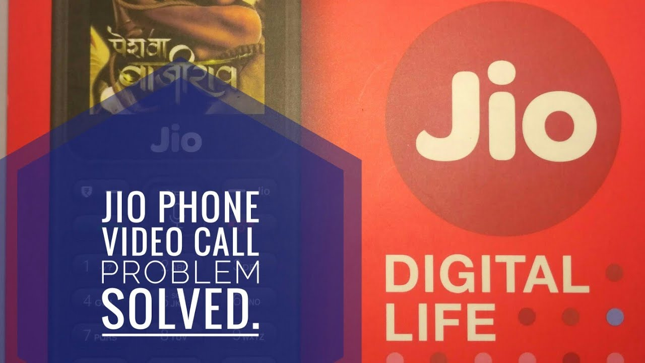 Video call problem in jio phone solved