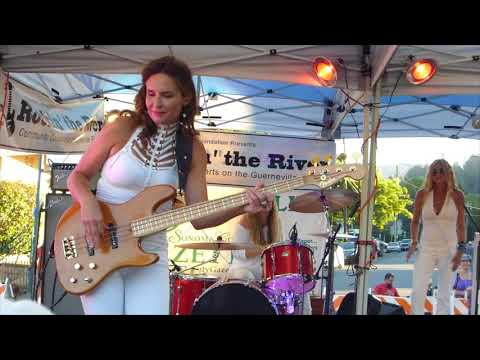 Zepparella - Gretchen Menn and Angeline Saris jam - 2017 Guerneville, California