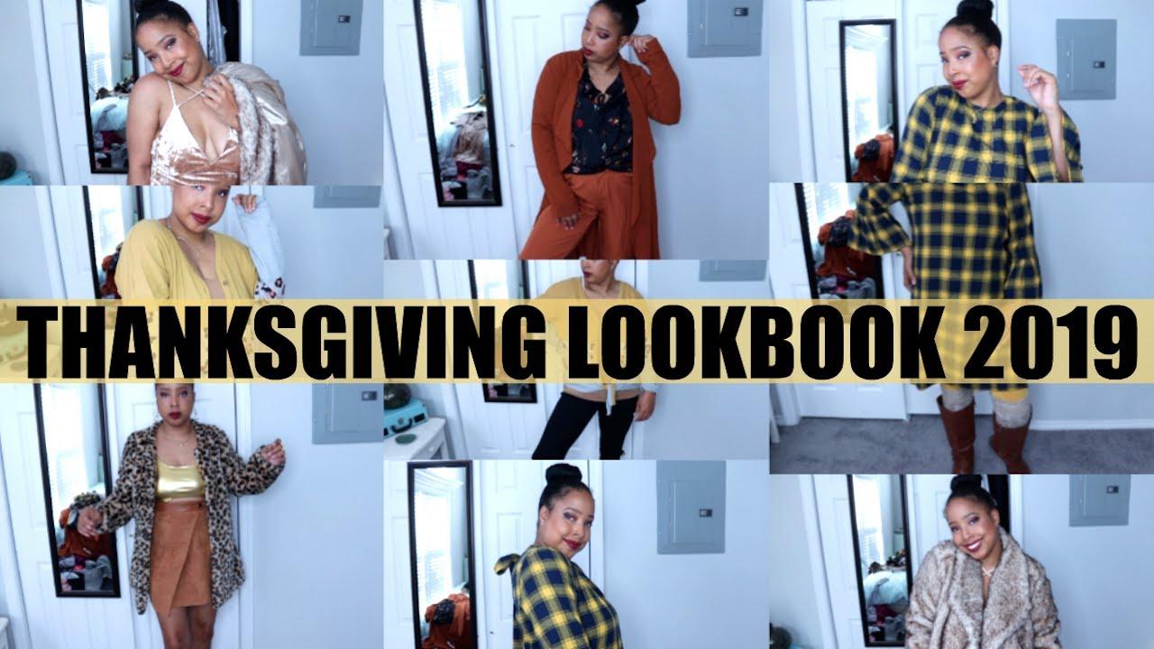 [VIDEO] - Thanksgiving Lookbook 2019 (5 OUTFITS) | Jewel Jasmine 1