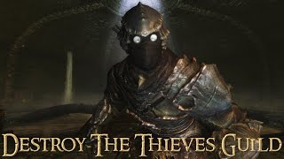 Morag Tong Assassin (part 2) - Destroy the Thieves Guild - Skyrim Stealth Gameplay