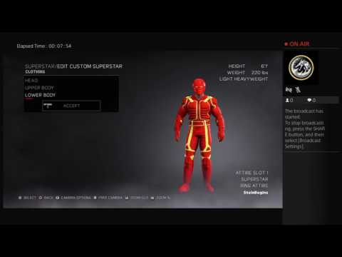 WWE 2K17 Create a Superstar