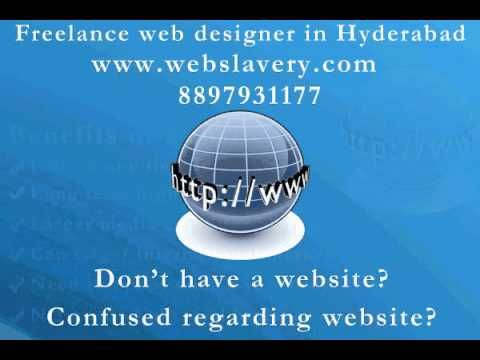 Freelance Web Designing in Hyderabad | Web Designer in Hyderabad @ webslavery.com