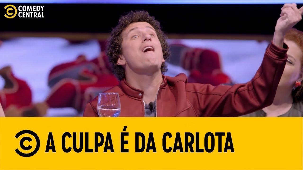 #ACulpaÉDaCarlota - Baba BABY com Rafael Portugal - parte 1