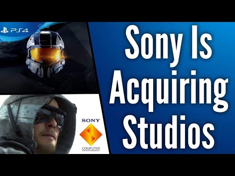 Halo Almost Came to PS4 and Sony is Acquiring New Studios | Kojima Productions, Insomniac and More