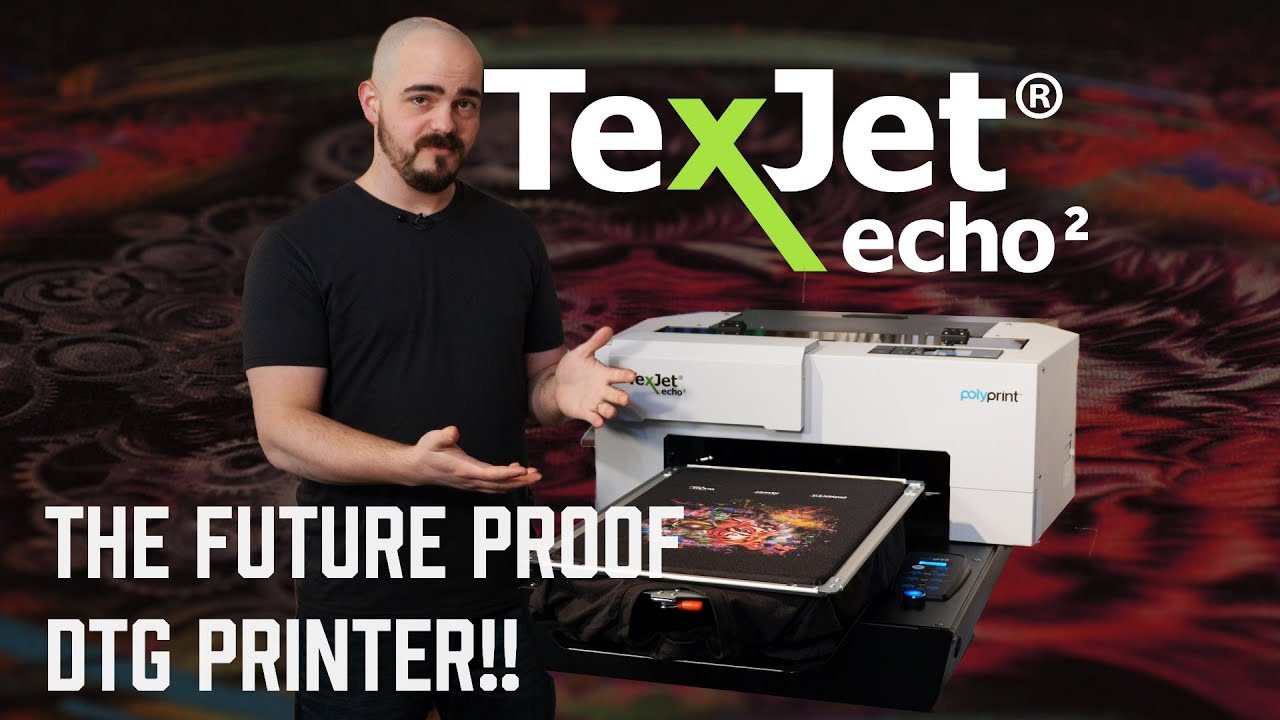 d1a0a1dd PolyPrint TexJet Echo2 DTG Printer | ScreenPrinting.com by Ryonet