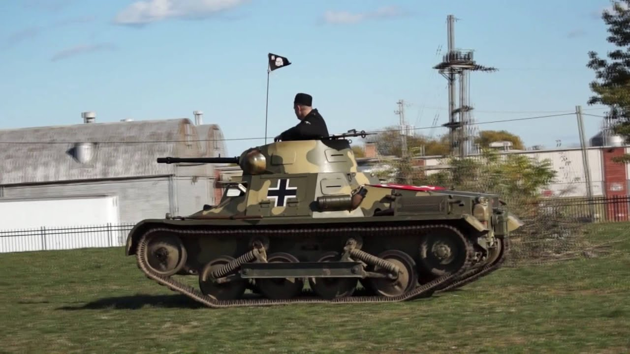 German army panzer 1 tank youtube - Army tank pictures ...