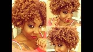 natural hair   super defined frizz free twist out