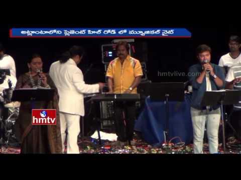 Mani Sharma Live Musical Night In Atlanta, USA | NRI News | HMTV