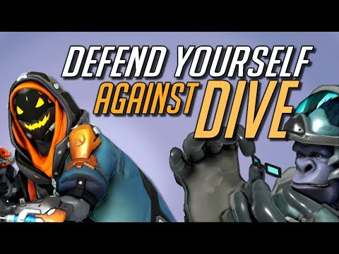 Defend Against DIVE Comp as a Support Main | Overwatch