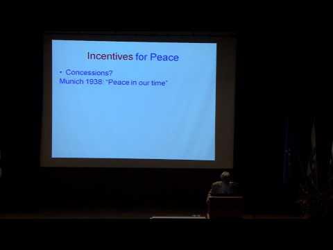 ASC 2012 | Prof. Robert J. Aumann | War and Peace