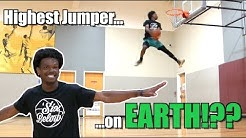 """5'10"""" Guy Oliver Dunk Session! RIDICULOUS Hops!"""