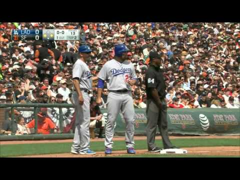 Giants vs. Dodgers 04.07.2016 [Full Game HD]