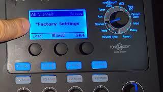 Bose T1®/T4S/T8S ToneMatch® mixer Create a Scene