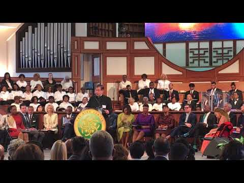 Fr. Frank's talk at the 2018 Martin Luther King Commemoration
