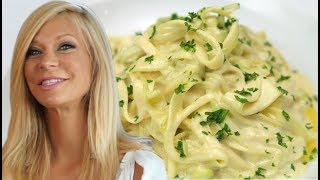 Healthy Pasta Alfredo & Ravioli from Raw Plants- No Wheat, Dairy, Gluten or even Cooking
