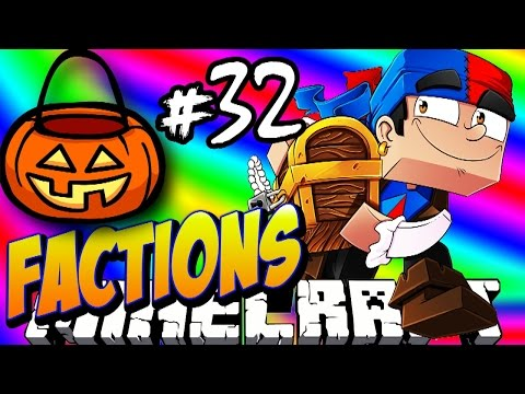 Minecraft FACTIONS #32 'HALLOWEEN EVENT!' - Treasure Wars S1