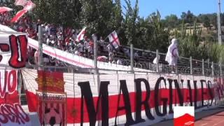Banderazo previo a partido Curicó Unido - Rangers de Talca
