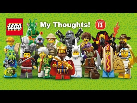 The Brickverse: Theme Guide: Lego Minifigures, Series 11