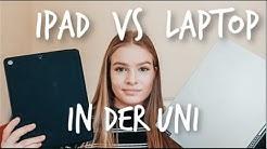 LAPTOP VS iPAD für die Uni | Lohnt sich ein iPad? Wofür nutze ich was? | Hanna Marie