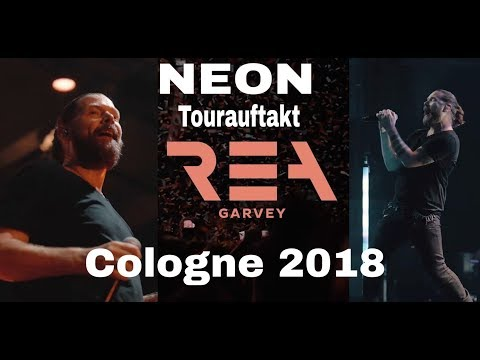 Rea Garvey - NEON Tourauftakt Live @ Cologne 10.9 - (Nearly Complete Concert - 16 Songs)