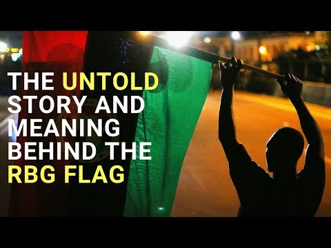 The Untold Story And Meaning Behind The RBG Flag