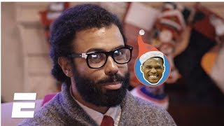 Thunder-Rockets Christmas Day promo starring Daveed Diggs and Ryan Nicole Peters | NBA