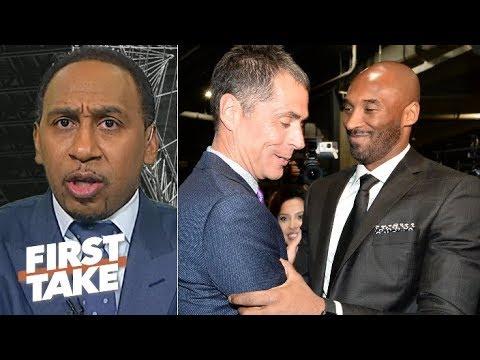 How does the NBA view Rob Pelinka? Kobe livid to be tied to drama – Stephen A. | First Take