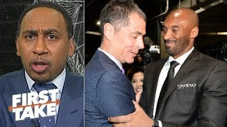 How does the NBA view Rob Pelinka? Kobe livid to be tied to drama – Stephen A. | First Take