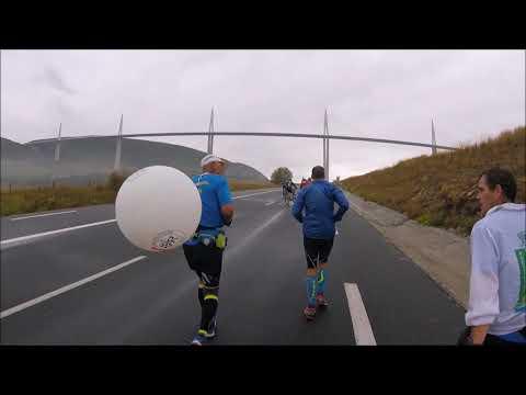 100 km de Millau 2017 avec Germinal en 13h
