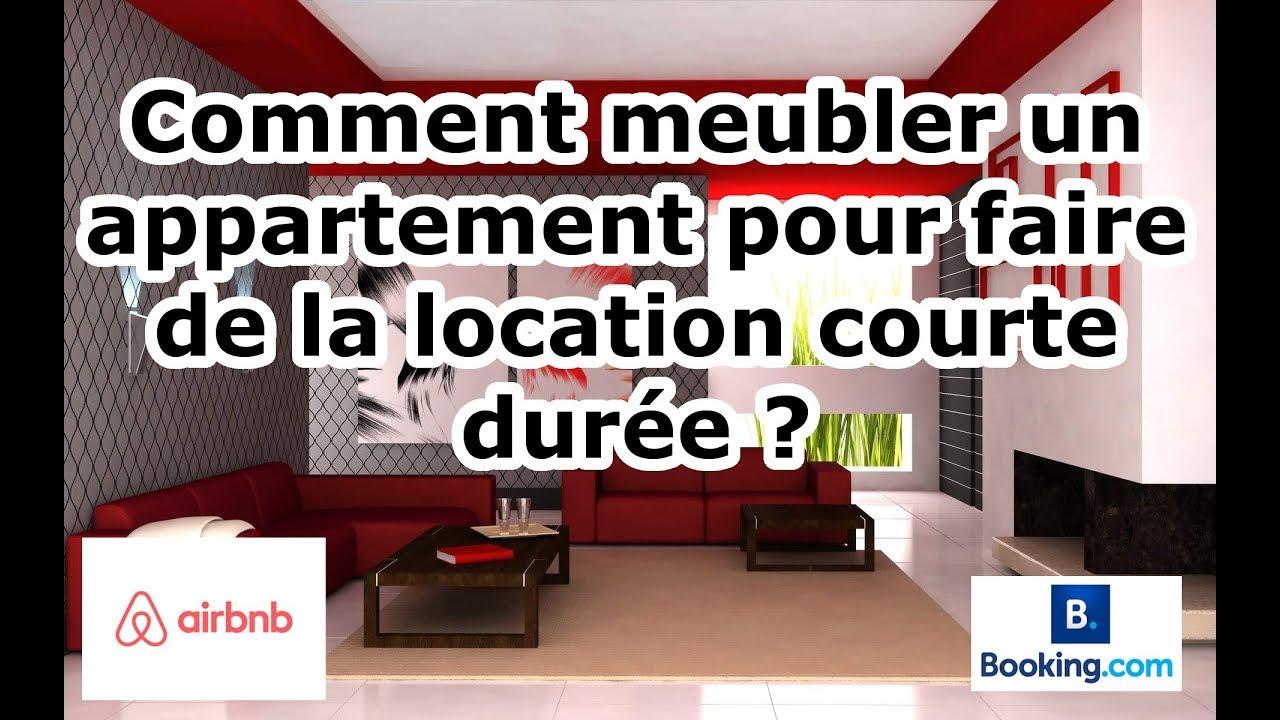 comment meubler un appartement pour faire de la location. Black Bedroom Furniture Sets. Home Design Ideas