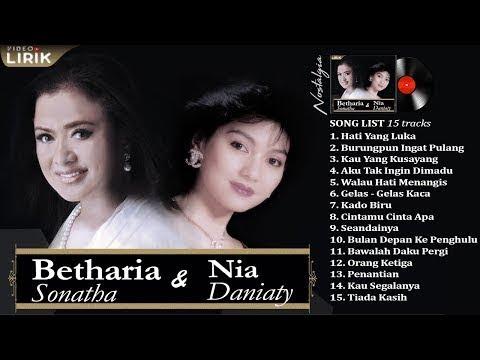 BETHARIA SONATHA & NIA DANIATY - Lagu Hits tahun 80an-90an Paling Populer