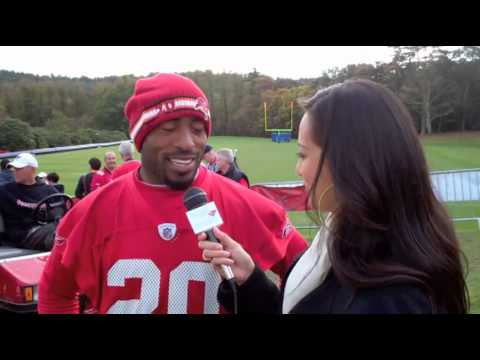 Ronde Barber interview in London