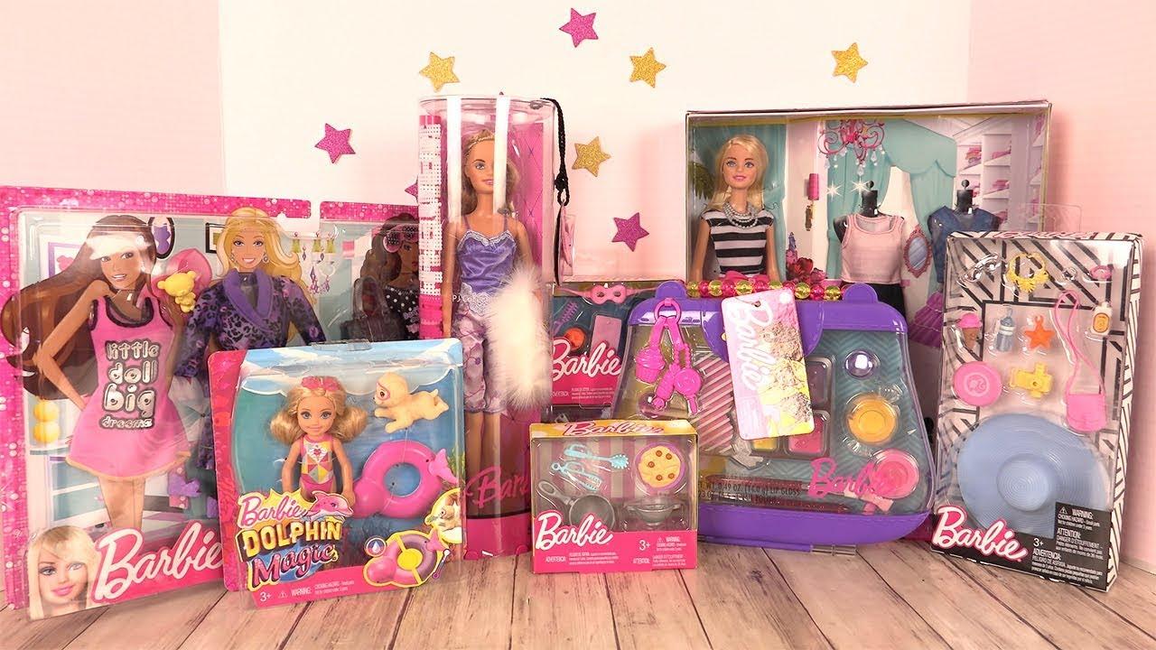 barbie jouets accessoires cuisine maquillage vacances et v tements youtube. Black Bedroom Furniture Sets. Home Design Ideas