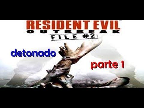 Resident Evil Outbreak File 2 detonado [1] legendado PT BR o elefante gigante