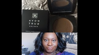 Avon creme to powder foundation on Oily skin