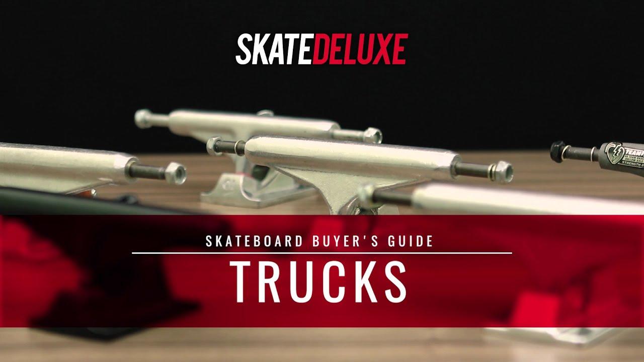 sélection spéciale de quantité limitée le plus populaire Tout sur les Trucks de Skateboard - Wiki | skatedeluxe Blog