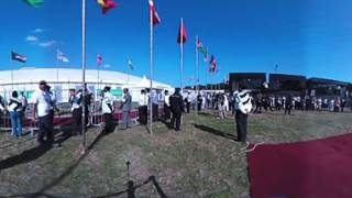 360 Flag Hoisting #JalsaConnect