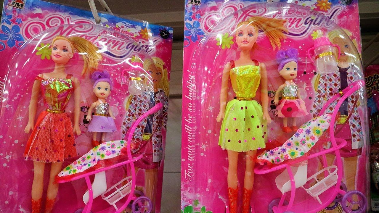 Bocah Imut Natasha Hunting Boneka Barbie Bayi Ada Stroller Mininya Lucu Youtube