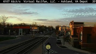 Ashland, Virginia USA - Virtual Railfan LIVE