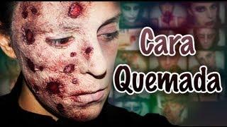 Maquillaje Halloween Cara Quemada (Freddy Krueger) Makeup FX #5 | Silvia Quiros